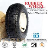 Hand-LKW-Reifen-Laufkatze-Reifen-pneumatisches Gummirad 9X3.50-4