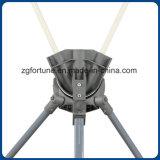 Fahnen-Standplatz des Berufshersteller-justierbarer quadratischer Platten-Eisen-Gefäß-X