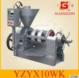 Pers Yzyx10-6/8/9wk van de Olie van de Sesam van de Pers van Guangxin de Hete
