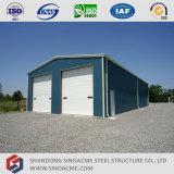 Низкая стоимость Sinoacme сегменте панельного домостроения в стальной каркас здания для хранения