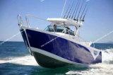 Beau bateau de pêche de bateau d'alliage d'aluminium en grande mer