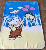 100%년 폴리에스테는 2개의 층 아기 밍크 담요를 인쇄했다
