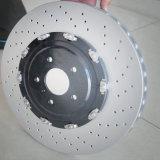 Le véhicule de prix bas de qualité de la Chine partie les rotors automatiques de frein à disque de frein avec le numéro 9803918180 de la qualité OE d'OEM pour le véhicule Peugeot 308 II