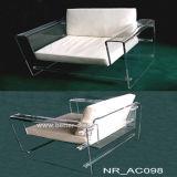 Sofa acrylique clair moderne Btr-Q6006 de salle de séjour