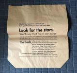 Bolso de tienda de comestibles común del papel de Kraft del bolso
