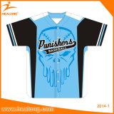 Fornitore degli abiti sportivi della Jersey di baseball della stampa di Healong