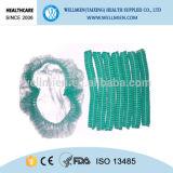 Protezioni Bouffant dei capelli di ambulatorio a gettare