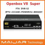 Nouveau Récepteur Satellite Original Openbox V8 Super HD DVB-S2 Openbox V8S même fonction de soutien Powervu Cccam Bisskey etc.