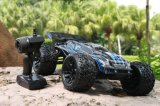 2.4G Fast Speed ​​Power Electric Brushless 1 / 10th Scale RC Car Metal Chassis 4X4