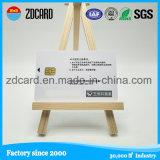 Cartão plástico PVC com fita magnética