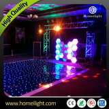 New Twinkling sem fio e fio LED Star Dance Floor para festa Wedding Disco Show