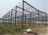Costruzione competitiva della struttura d'acciaio con Z600gram/Sqm galvanizzato tuffato caldo di superficie (CSSB-10100)