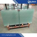 O vidro temperado porta do chuveiro com acessórios de aço inoxidável