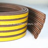 Прокладка уплотнений пенистого каучука EPDM для деревянных дверей