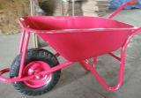 熱い販売! エジプトの市場のためのピンクカラー手押し車Wb5009