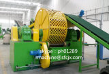 セリウムおよびISOのゴム製粉のための生産ライン機械をリサイクルする自動車の不用なタイヤ