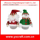 Noël gonflable de bouteille de mémoire de Noël de la décoration de Noël (ZY16Y096-1-2 26CM)
