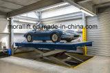 A garagem Scissor a plataforma giratória do elevador do carro