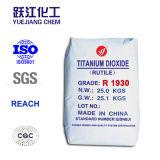 Rutilo R1930 o dióxido de titânio (tintas, revestimento use)