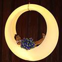 Éclairage extérieur LED Lumière de jardin Swing public