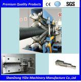 E/PP/PVC escolhem a máquina plástica corrugada parede da extrusão da tubulação