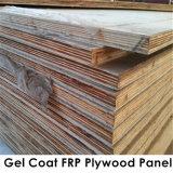 El panel del aislante de la madera contrachapada de Prelaminated del poliester de FRP para el barco, construcción de carrocería del carro
