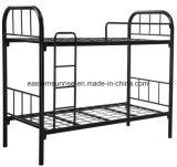 Schule-Lager-militärisches preiswertes Stahlrahmen-Koje-Bett