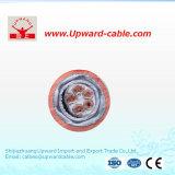Câbles électriques ignifuges d'incendie (conducteur 5core de cuivre)