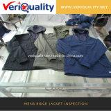 Обслуживания осмотра качества обслуживания/одежды контроля перед отправкой куртки Ridge Mens