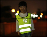 Maglia riflettente di traffico di sicurezza di alta visibilità sveglia dei bambini