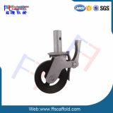 Baugerüst-Fußrollen-Rad mit Bremse