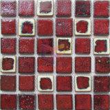 赤レンガの台所しぶき(CST301)のための陶磁器の装飾のモザイク
