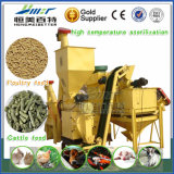Produção estável de fabricação de fabricação de pellets de combustível de gado