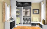 Dormitorio de 3 puertas de madera barata armario (zy-023)