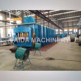 Ruban Convoyeur Belt Platen Hydraulic Curing Vulcanizer Machine Vulcanizing Press