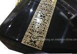 Rectángulo de empaquetado del diseño del alto del lustre perfume de madera árabe de la laca