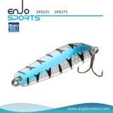 trastos de pesca de hundimiento del señuelo de la pesca del hilandero de los 5.5cm con Vmc los ganchos de leva agudos