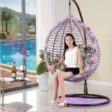 حديقة أثاث لازم يعلق كرسي تثبيت [ويكر] بيضة كرسي تثبيت خارجيّة [رتّن] أرجوحة ([د017ا])