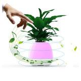 Bluetooth LEDライトが付いているスマートな音楽植木鉢