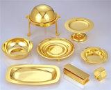 Vide d'or d'or de Rose de couverts d'acier inoxydable métallisant la machine