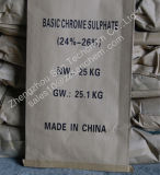 BCS (革日焼けのための基本的なクロム硫酸塩) 24-26%