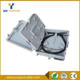 Al aire libre impermeabilizar 8 el rectángulo de fibra óptica del fin del divisor Sc/APC de Casset de las memorias