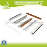 PVC Ceiling Tiles /PVC Suspended Gypsum Ceiling Strips 595X595mm