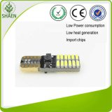 12-24V weißes Auto-Licht des Rot-24SMD T10 LED mit Canbus