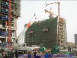 Bomba de concreto Hongda 32m com boom