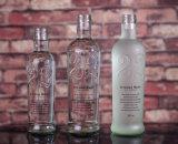 Hecho a la medida de la botella de Super Flint Agua mineral de cristal con serigrafía