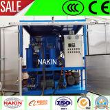 Prueba de agua vacío de tipo cerrado de la máquina de reciclaje de aceite de transformadores