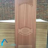 As portas de madeira projetam as peles folheadas naturais da porta do MDF da pele da porta