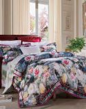 In het groot Super Comfortabel die Beddegoed Van uitstekende kwaliteit voor Huis wordt geplaatst