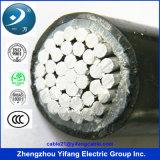 600/1000V 4 câble d'alimentation en aluminium de base